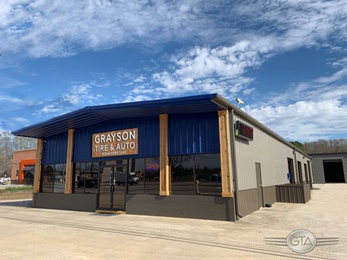 Grayson Tire Front | Grayson Tire & Auto Center